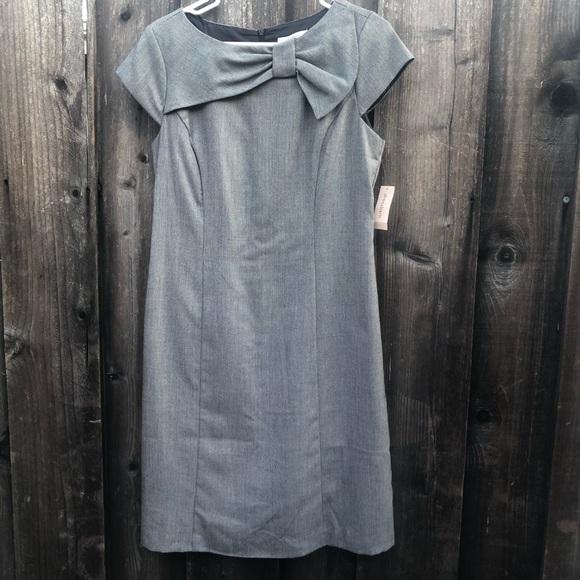 Dress Barn Dresses & Skirts - Dressbarn bow office dress back zipper size 12